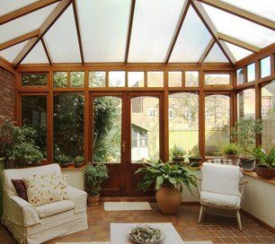 Glass conservatories