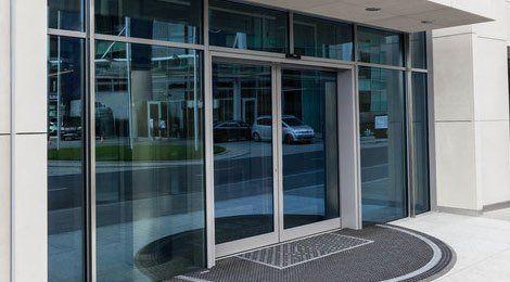 Fireglass doors