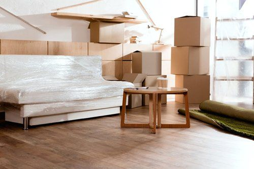 Residential Moving — Furnitures With Boxes For Moving in Lorton, VA
