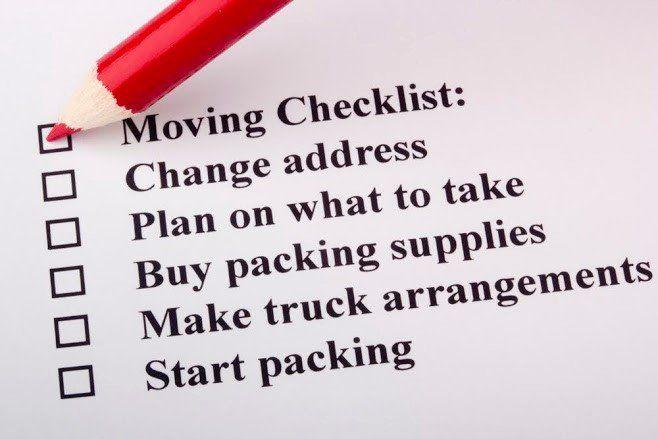 Plan Checklist — Lorton, VA — Fairfax Transfer and Storage Inc.