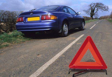 Image of a broken car indicator