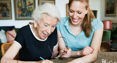Care worker training and supervision