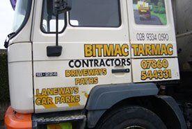 Bitmac Tarmac truck