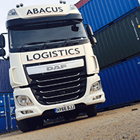 Abacus Logistics vehicle