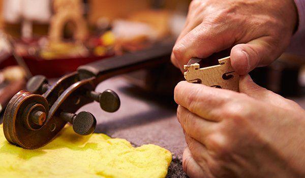 riparazione di strumenti, Amadeus, Perugia