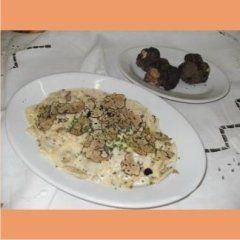 Primo piatto e tartufi