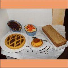Varie torte e dolci fatti in casa