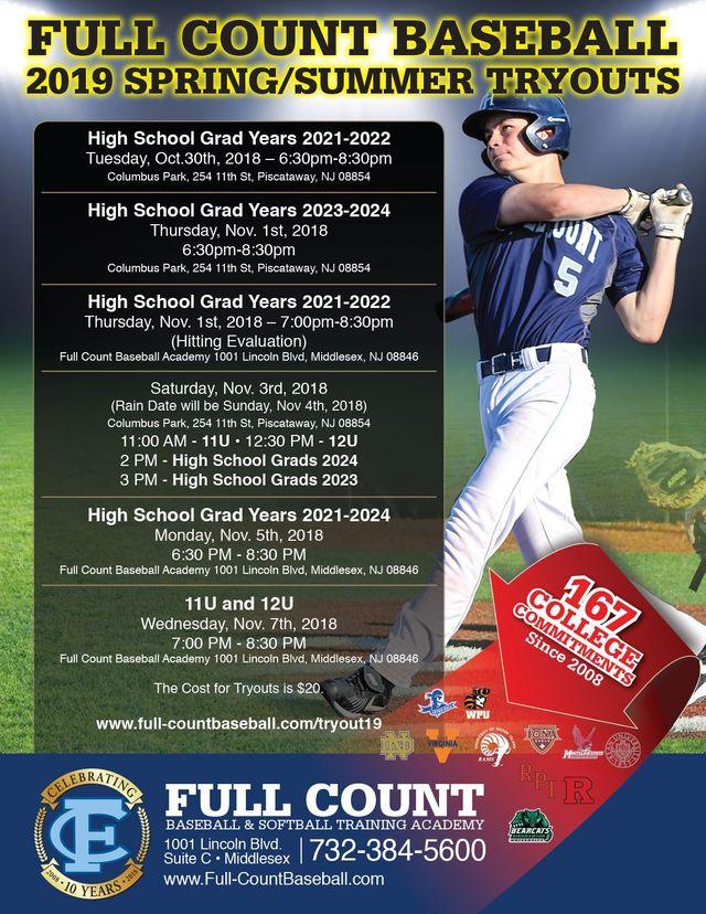 Full Count Baseball and Softball Academy