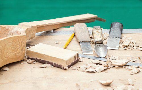 strumenti per lavorazioni edili