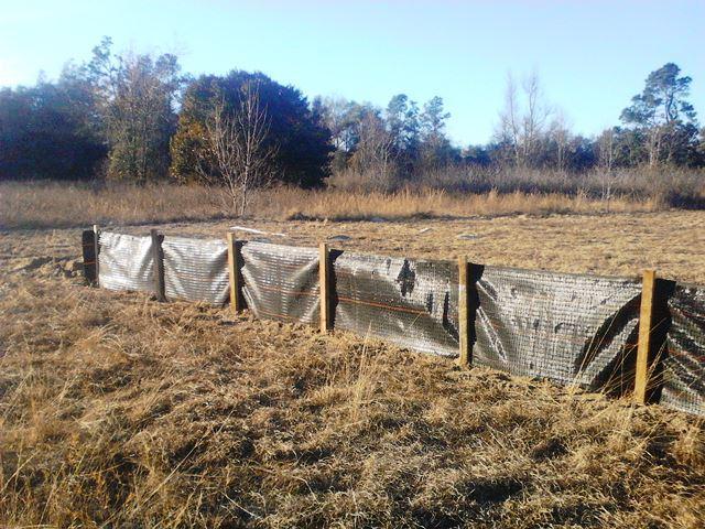 Silt Fence Augusta GA Bill Harley Company