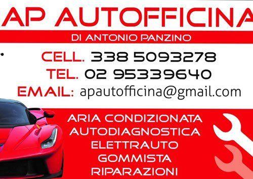 AP Autofficina di Antonio Panzino - Biglietto da visita