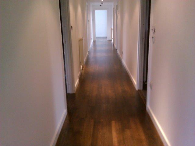 Hardwood flooring restoration and repair