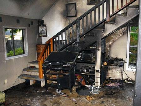 Fire Damage   First Response Services