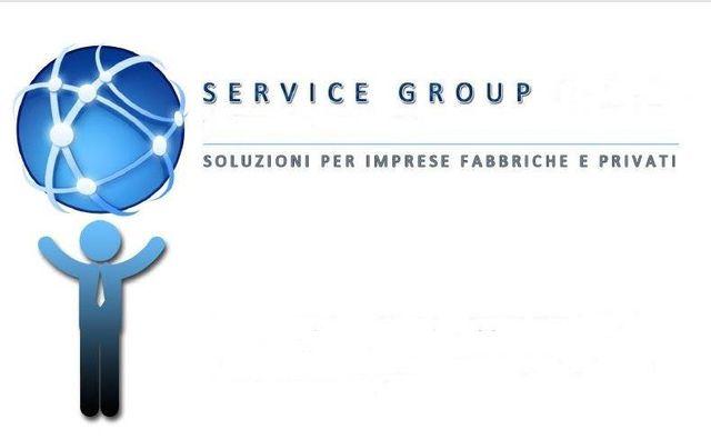 Il logo aziendale dell'impresa di pulizie