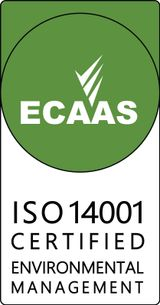 ECAAS ISO 14001 certification