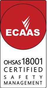 ECAAS OHSAS18001 certification