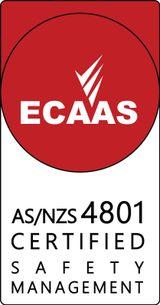 ECAAS certification AS/NZS 4801