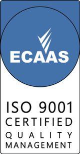ECAAS ISO 9001 certification