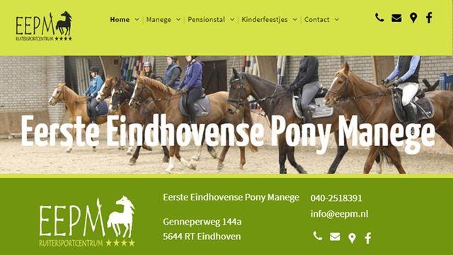 Nieuwe website Ruitersportcentrum EEPM Eindhoven