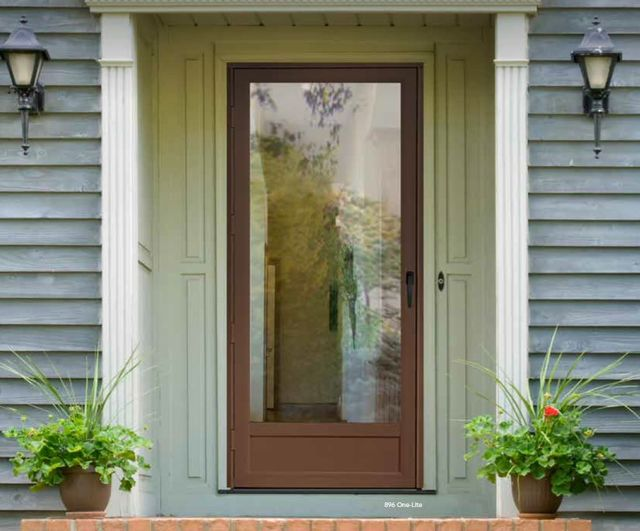 Glass Storm Door