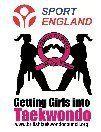 Taekwondo for girls logo
