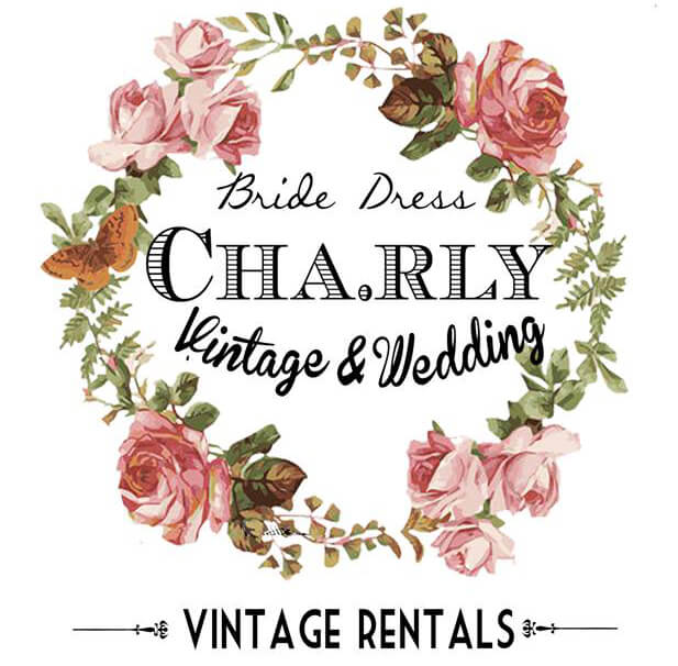 Cha.rly Vintage& Wedding Logo
