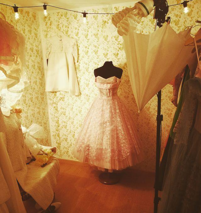 abito da sposa in stile vintage