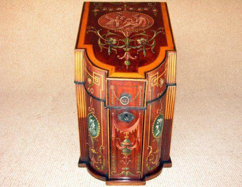 Antique furniture - storage stand
