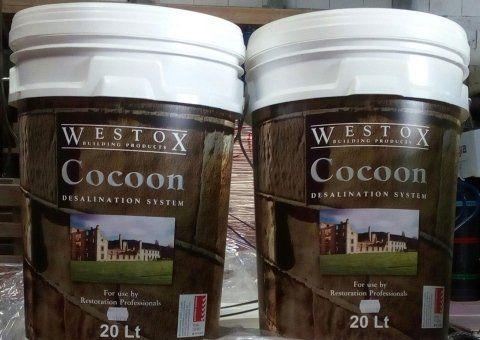 Cocoon il bio estrattore di sali per risanare e conservare i muri in modo naturale