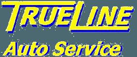 true line auto service logo
