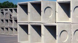 cemento, blocchi di cemento, condutture di cemento