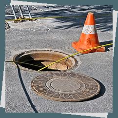 drainage opening