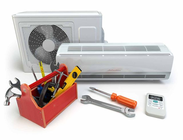 air conditioning and heating systems and tools