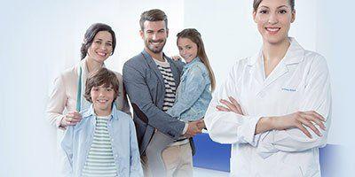 Dentista e famiglia
