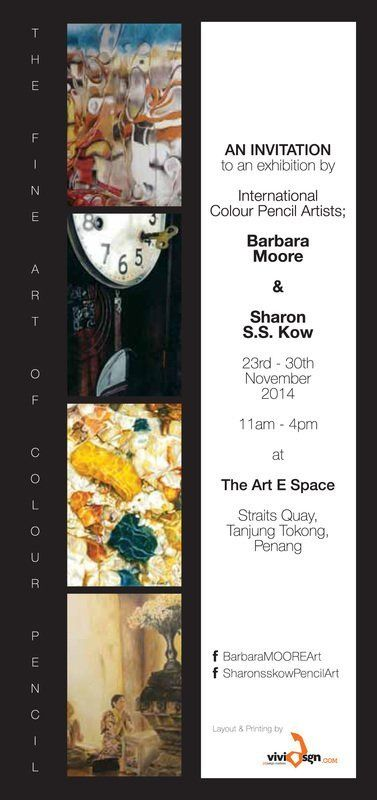 The Art E Space The fine art of color pencil kids art group in Penang