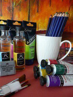 materials for art work
