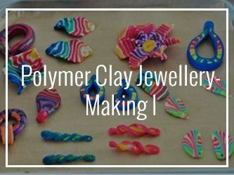 Polymer Clay Jewelry Making Art Classes in Malaysia