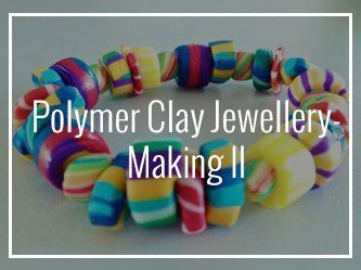 The Art E Space Polymer Clay Jewellery-Making II Kids Art Group in Penang