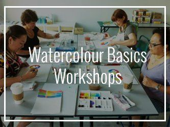Watercolour Basics Workshops Art Studio in Penang