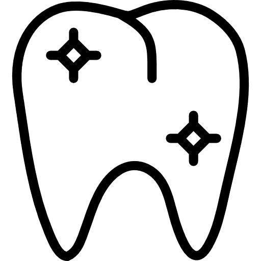 icona dente splendente