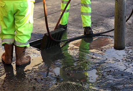 Professional drain clearance