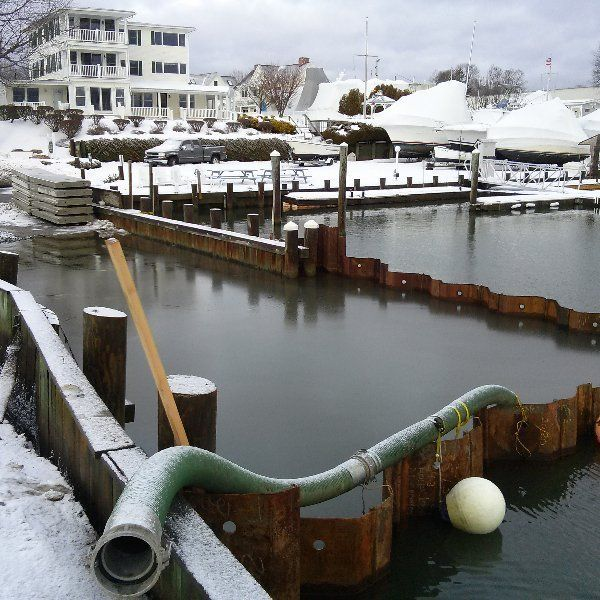 Modification of Old Saybrook Town Dock