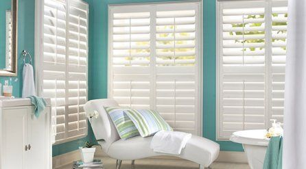 Shutters for sunlight protection