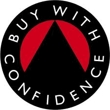 Buy with confidence logo for our established company