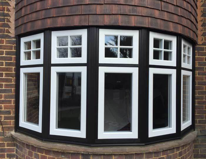 Aluminium window installation in West Sussex