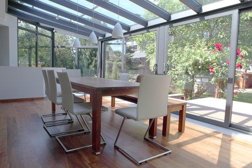 One of our conservatories in West Sussex