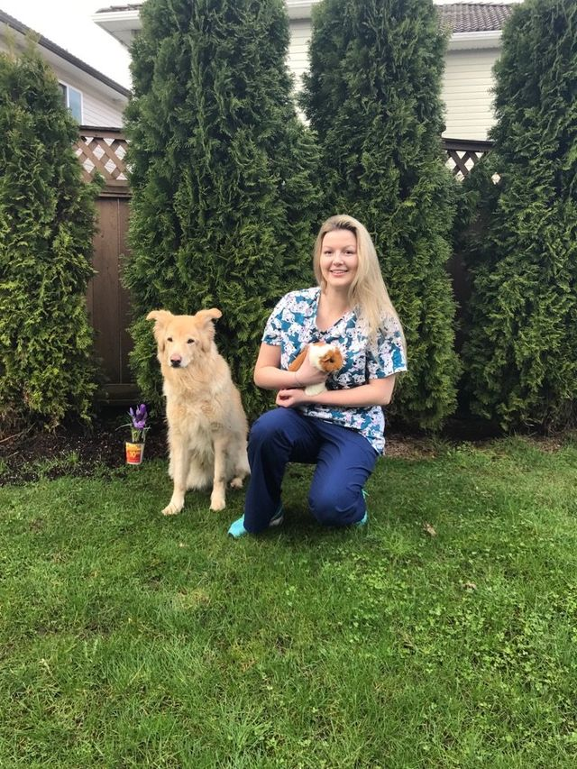 Ewa Nawrocki of Shaughnessy Veterinary Hospital