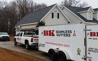 Seamless Gutters Raleigh, NC