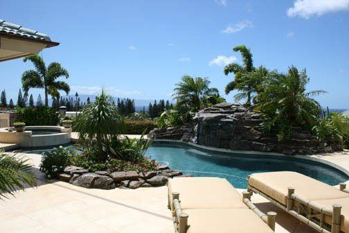 swimming pool maintained by our company in Kihei, HI