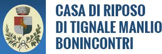 CASA DI RIPOSO DI TIGNALE MANLIO BONINCONTRI - LOGO